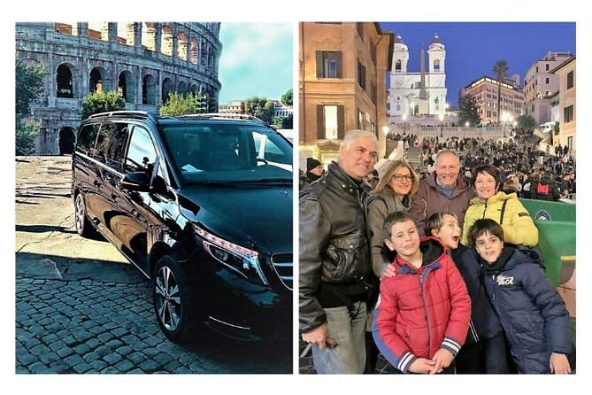 Rome in 3 hours with Luxury Private Car: Guided Tour of Top 12 Highlights