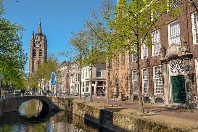 Foto rondleiding in historisch Delft