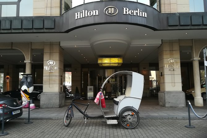 Berlin Highlights & Rickshaw & Driver/Guide