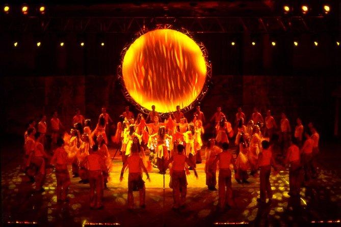 Fire of Anatolia at Gloria Aspendos Arena from Kemer