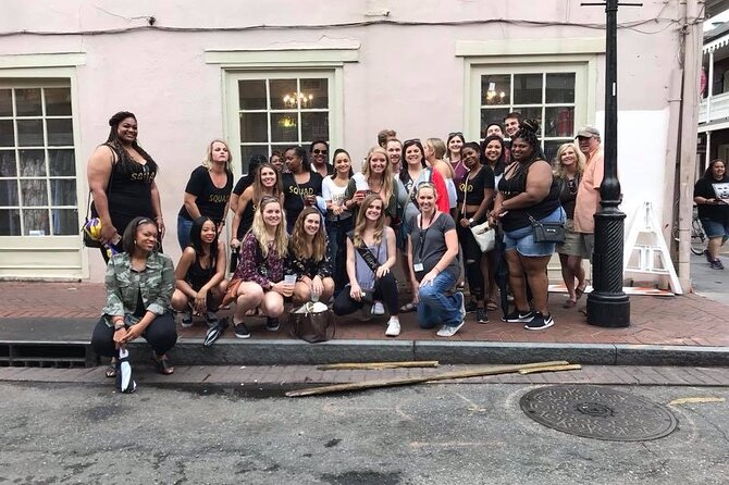 The Drunken Telling of New Orleans Tales
