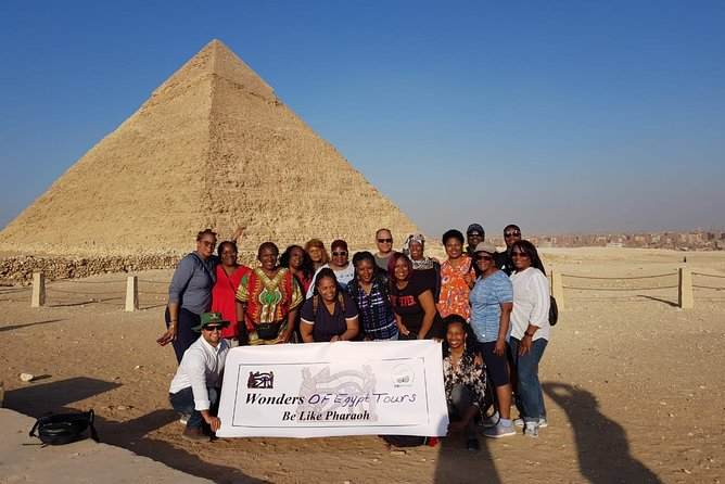 Black Pharaohs Adventure To Giza Pyramids & Great Sphinx With Camel Ride