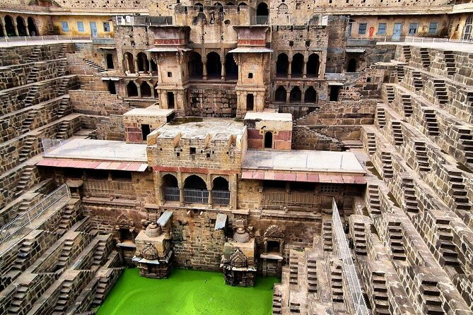 Full-Day Private Tour to Chand Baori and Bhangarh Fort