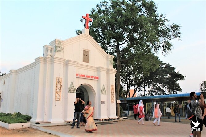 Walking Trip to Chennai St. Thomas Mount