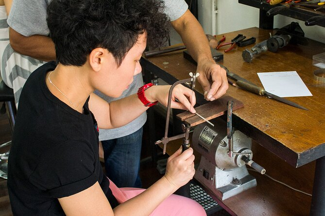 Jewellery Making Class with Silversmithing in Chiang Mai