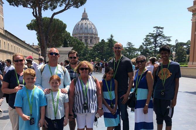 Family Friendly Vatican Tour for Kids including Sistine Chapel & Saint Peter