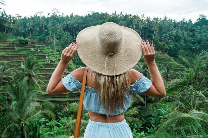 Best of Ubud: Rice Terrace, Temple and Waterfall Private Tour