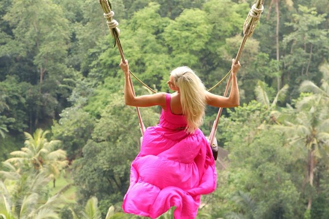 Ubud: Rice Terrace - Monkey Forest - Jungle Swing - Water Temple - Waterfall