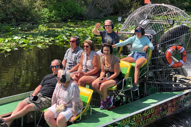 Sea Dragon Airboat Safari in Saint Augustine with a Guide