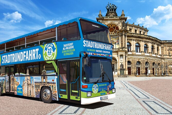 2 day ticket Grand City Tour Hop on Hop off 22 stops
