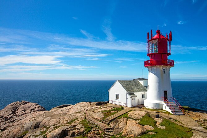Private tour to the Norway's oldest lighthouse Lindesnes from Kristiansand