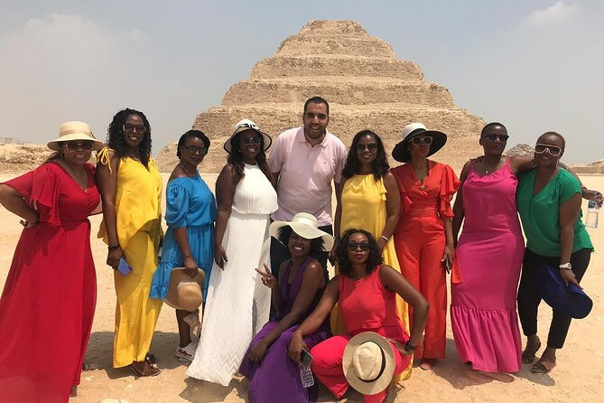 Magnificent Giza Pyramids Day Tour & Lunch