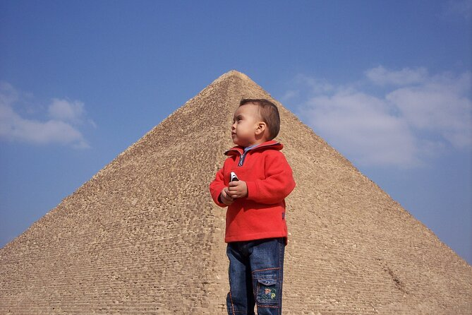 Full-Day Giza Plateau and Sakkara Tour from Cairo including Camel Ride