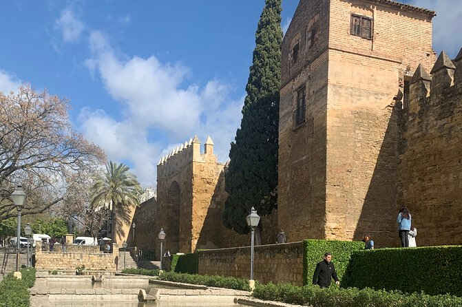 Guided tour of the Alcázar de los Reyes Cristianos Cathedral Mosque and Jewish quarter
