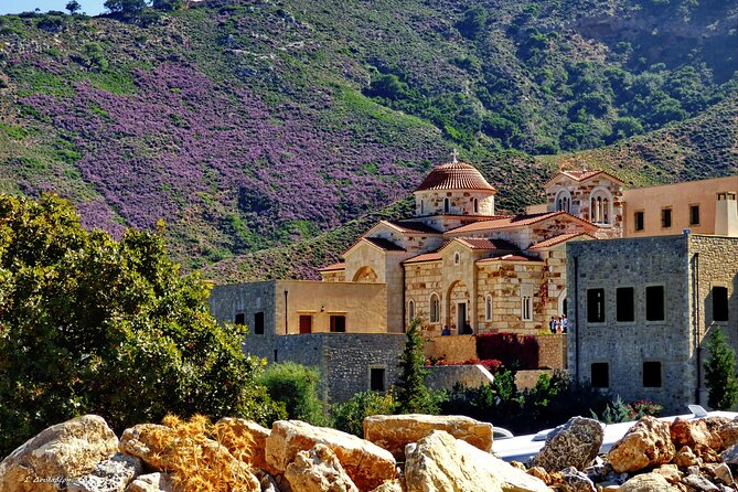 SeabyBus - Half day trip to Monastery-Olive Museum-Mulino Veneziano from Chania