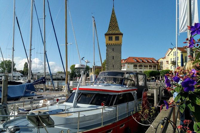 Private tour of the island of Lindau with a guided tour of the Bregenz floating stage and the Pfänder cable car