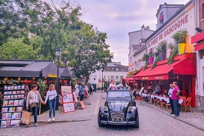 Private Citroën 2CV ride in Paris