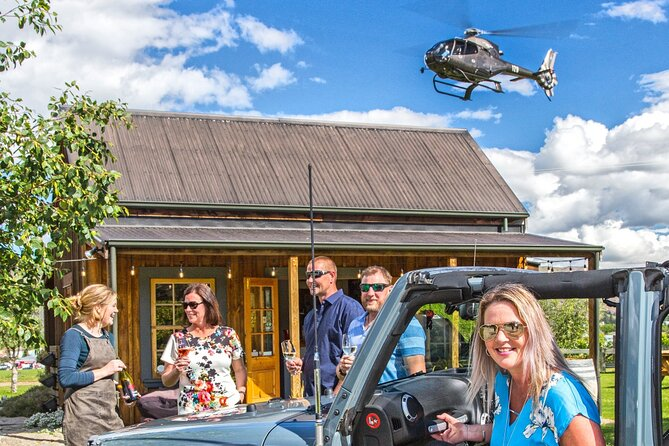 Heli Jeep Wine Tour from Wanaka, Central Otago