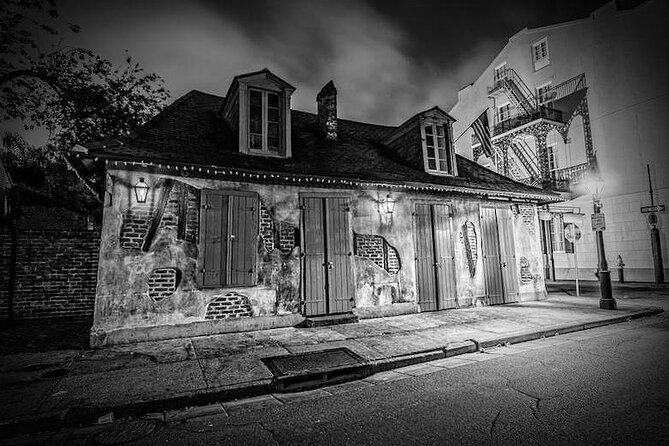 New Orleans Ghost Adventure with Real Paranormal Equipment