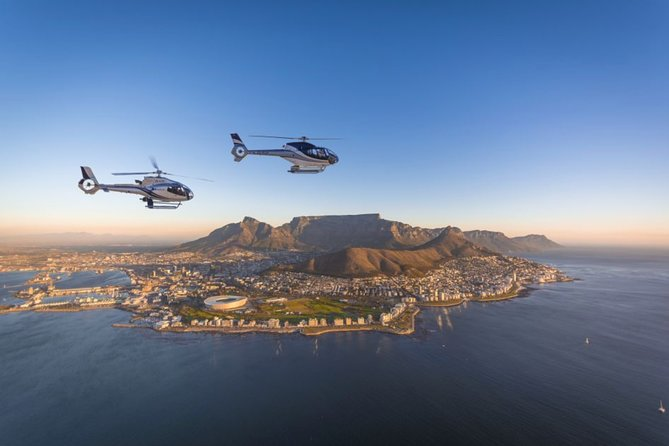 Cape Town Scenic Helicopter Flight for 25 minutes