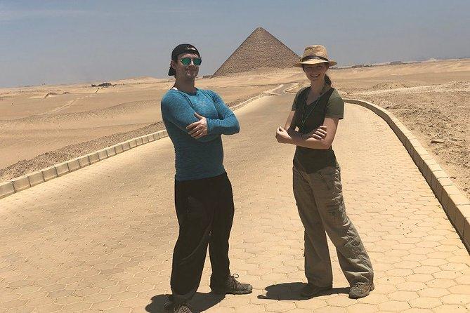 Customize a Private Day tour around Giza, Saqqara and Cairo City tour from Cairo