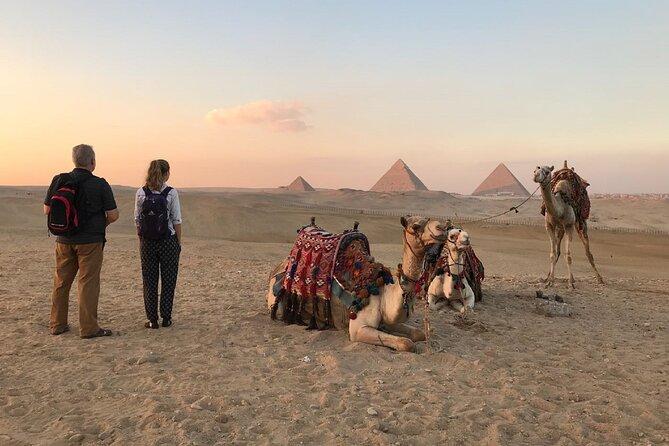 Private Tour Giza Pyramids, Memphis and Sakkara with Camel Ride