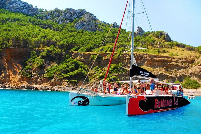 Mallorca Catamaran Tour in the Bay of Pollensa