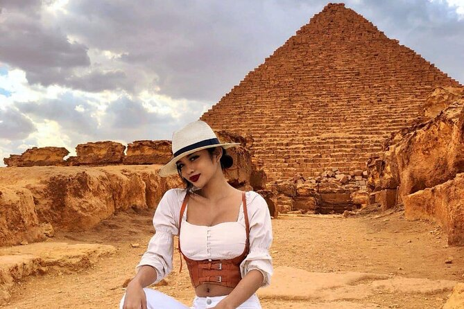 Pyramids, The Egyptian Museum, Khan Khalili Bazaar And Nile Dinner Cruise