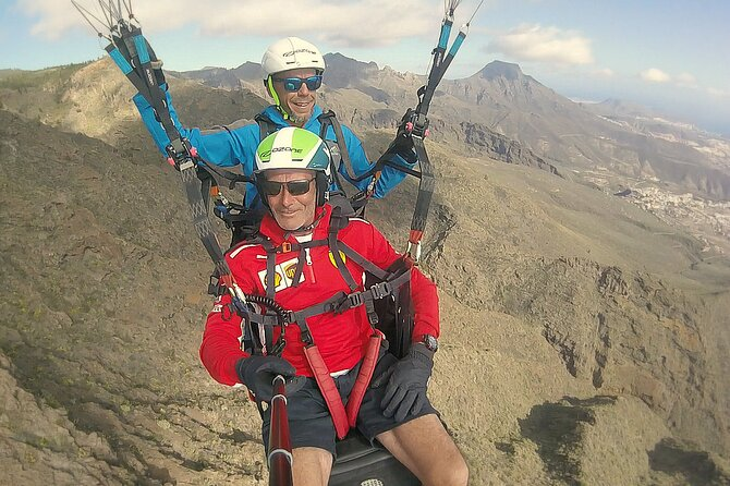 Paragliding Tandem Experience in Tenerife PANORAMIC