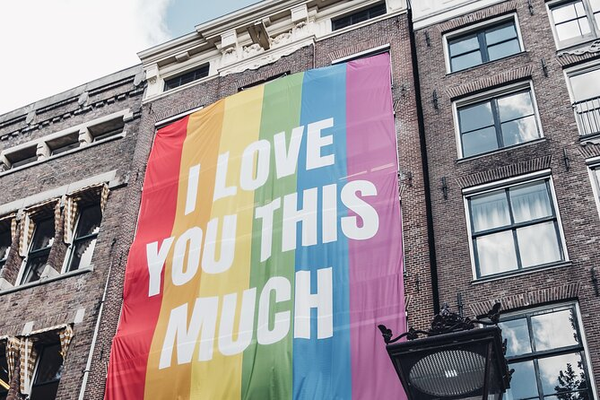 Pride Side (LGBTQ) of Amsterdam Private Tour with a local