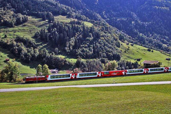 3 Days Swiss Alpine Rails and Trails Tour