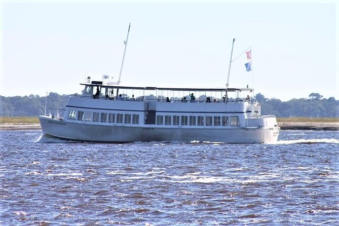 Charleston Harbor Sightseeing Cruise with Live Narration