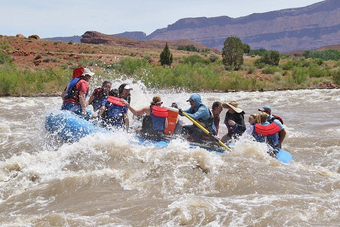Full-Day Colorado River Rafting Tour at Fisher Towers