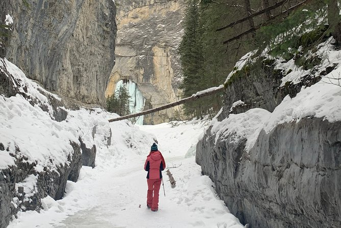 Canyons and Cave Paintings Ice Walking Tour - 3hrs