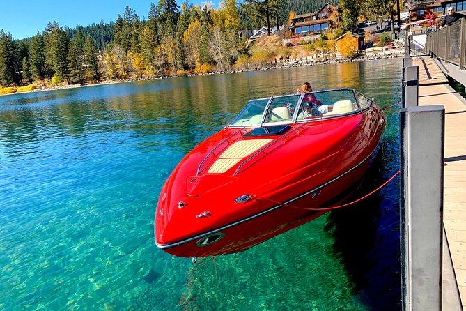 Fall Foliage Private Boat Charter Lake Tahoe