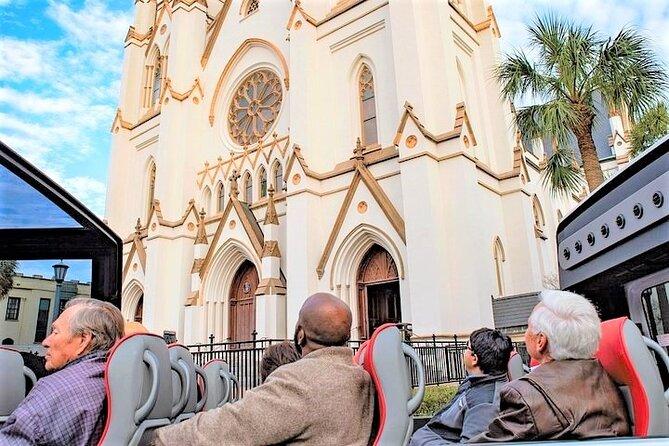Savannah History City Tour in Convertible Sprinter