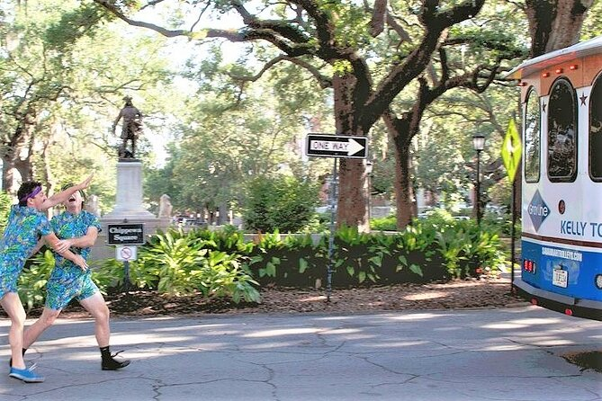 """The """"Savannah for Morons"""" Comedy Trolley Tour"""