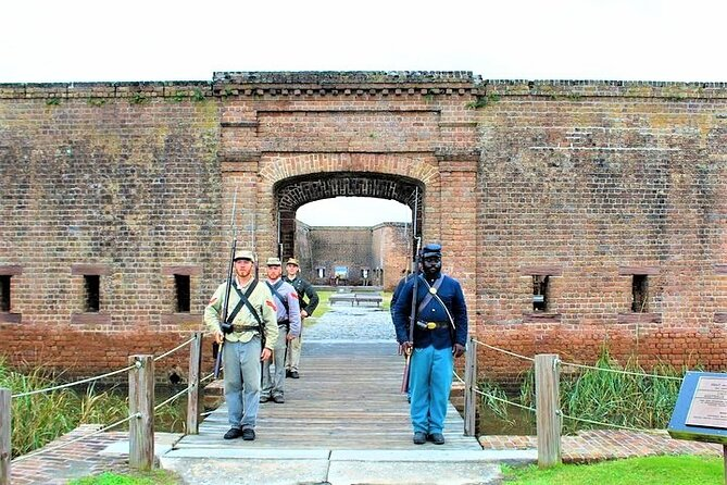 Savannah Fort Jackson & Bonaventure Guided Tour