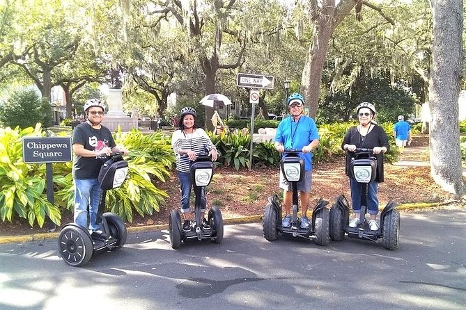 Movie Locations Segway Tour of Savannah