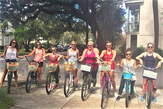 Savannah's Historical Guided Bike Tour