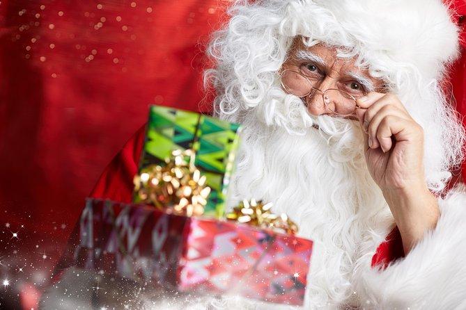 Meeting Santa Claus in Lapland