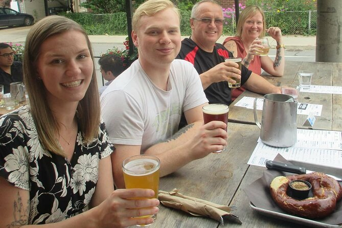 Corktown and Riverside Beer Tour
