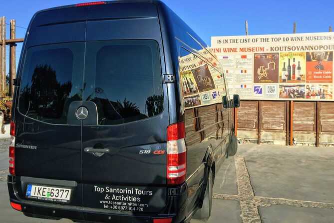 Santorini Departure Transfers & Travel Services