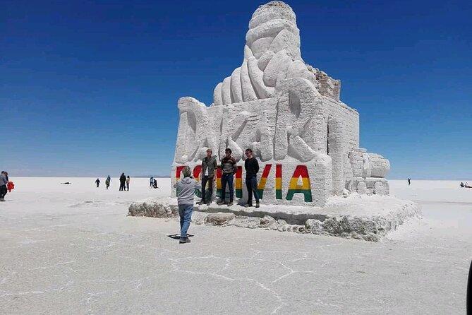 Private Volcano Tunupa and Uyuni Salt Flats Full-Day Tour from Uyuni