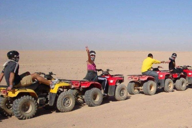 Quad Bike Safari Tours From Luxor at Sunrise or Sunset