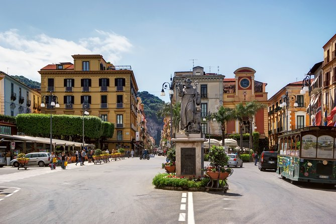 Transfer from Naples to Sorrento