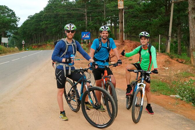 Full day Dalat mountain biking tour