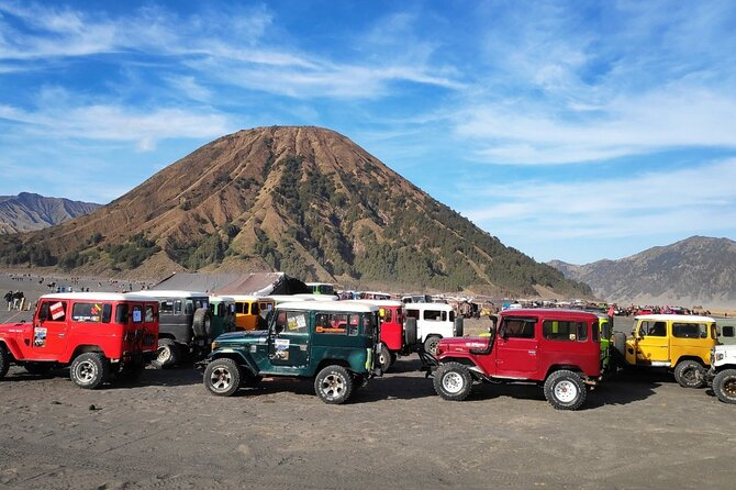 Full-Day Private Guided Sunrise Tour of Bromo Volcano