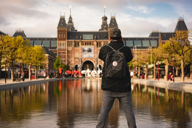Touristic highlights of Amsterdam on a Half Day (4 Hours) Private Tour
