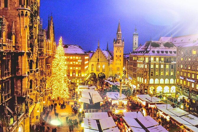 Magical Munich CHRiSTMAS TIME: Markets, Sights & Winter Joys EXCLUSiVE TOUR